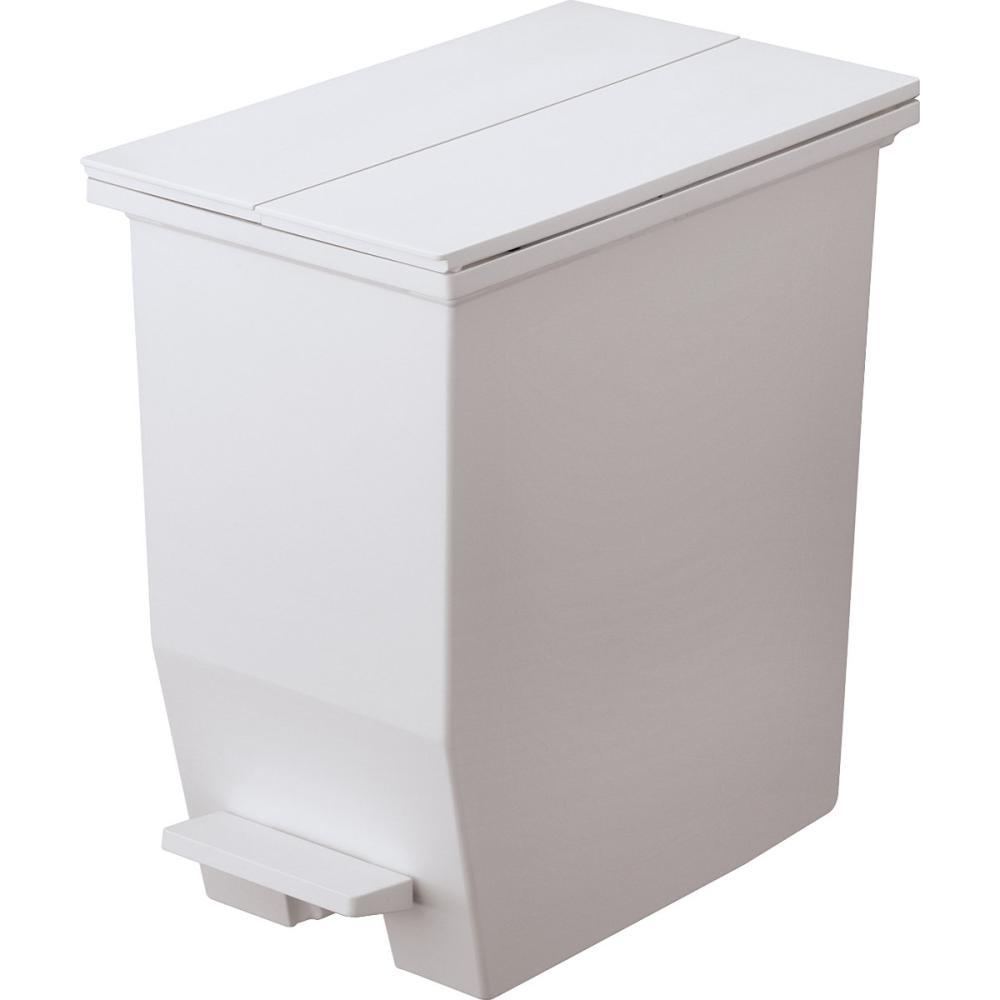 リス 棚下で使えるペダルダストボックス グレー 各サイズ