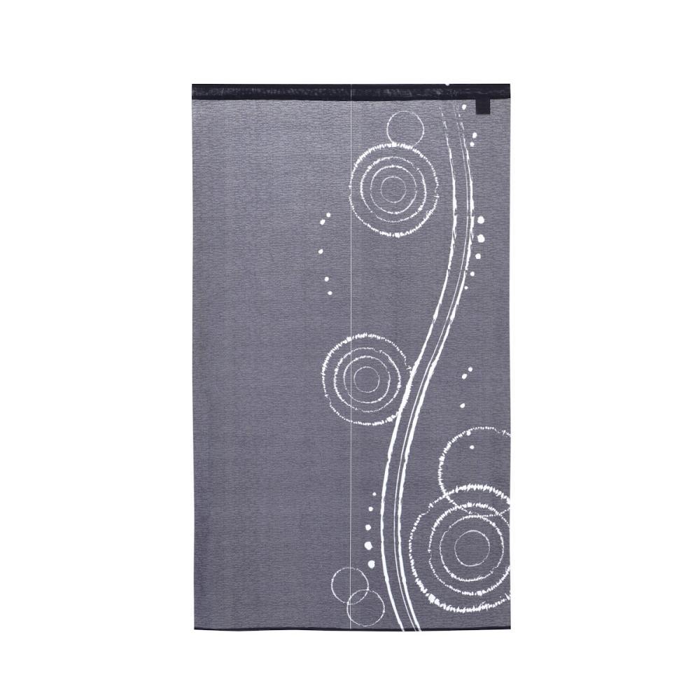 のれん 水紋 ネイビー 85×150cm