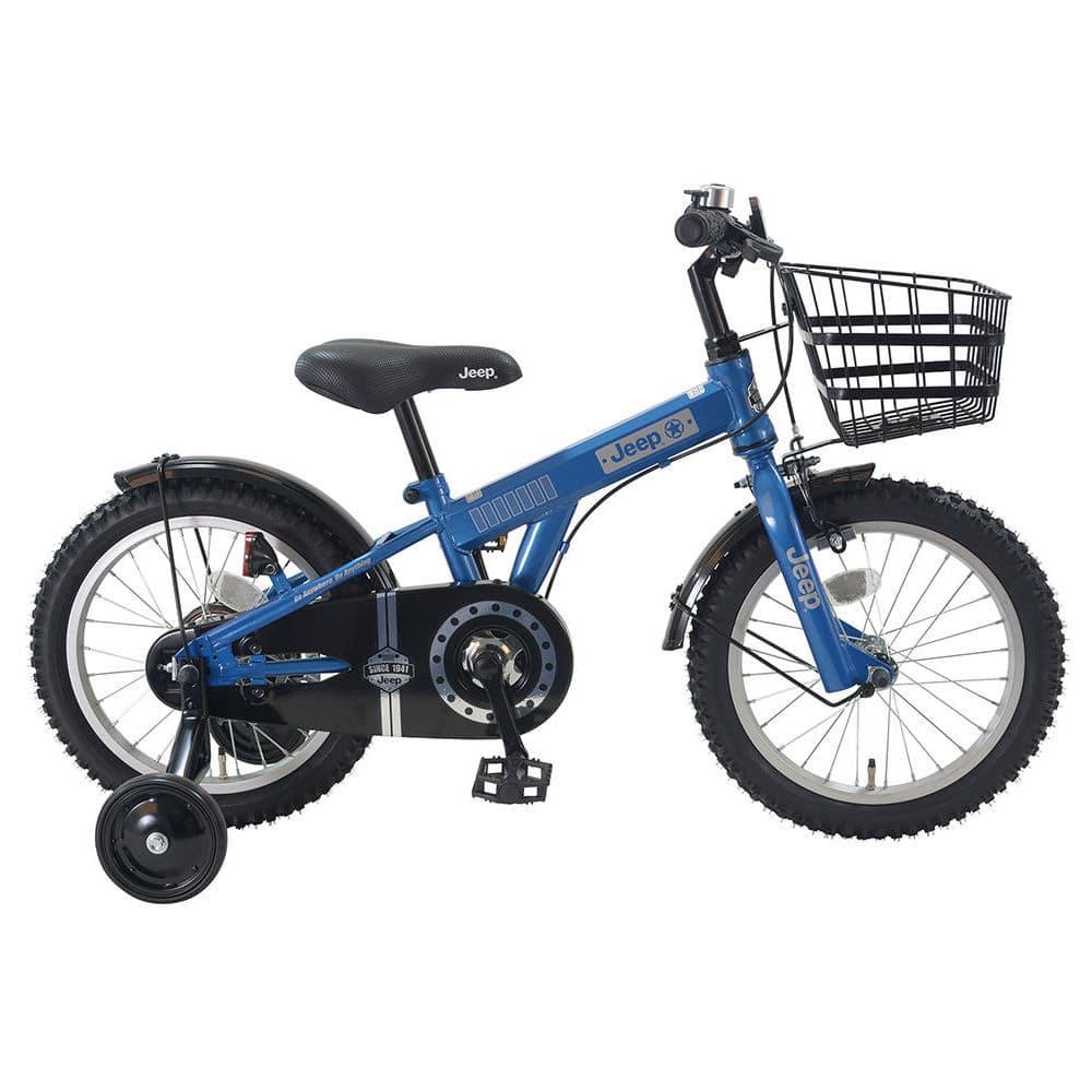 ジープ 幼児自転車 ブルー 各サイズ