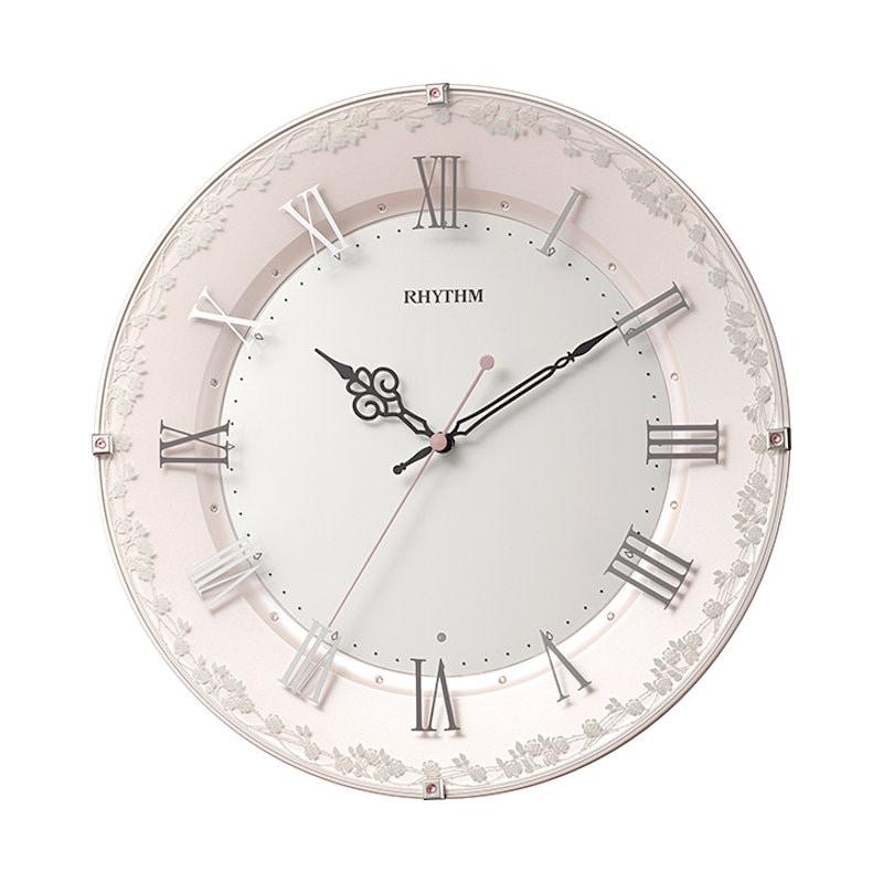 リズム時計 掛時計 8MY538SR13 アラカルト538