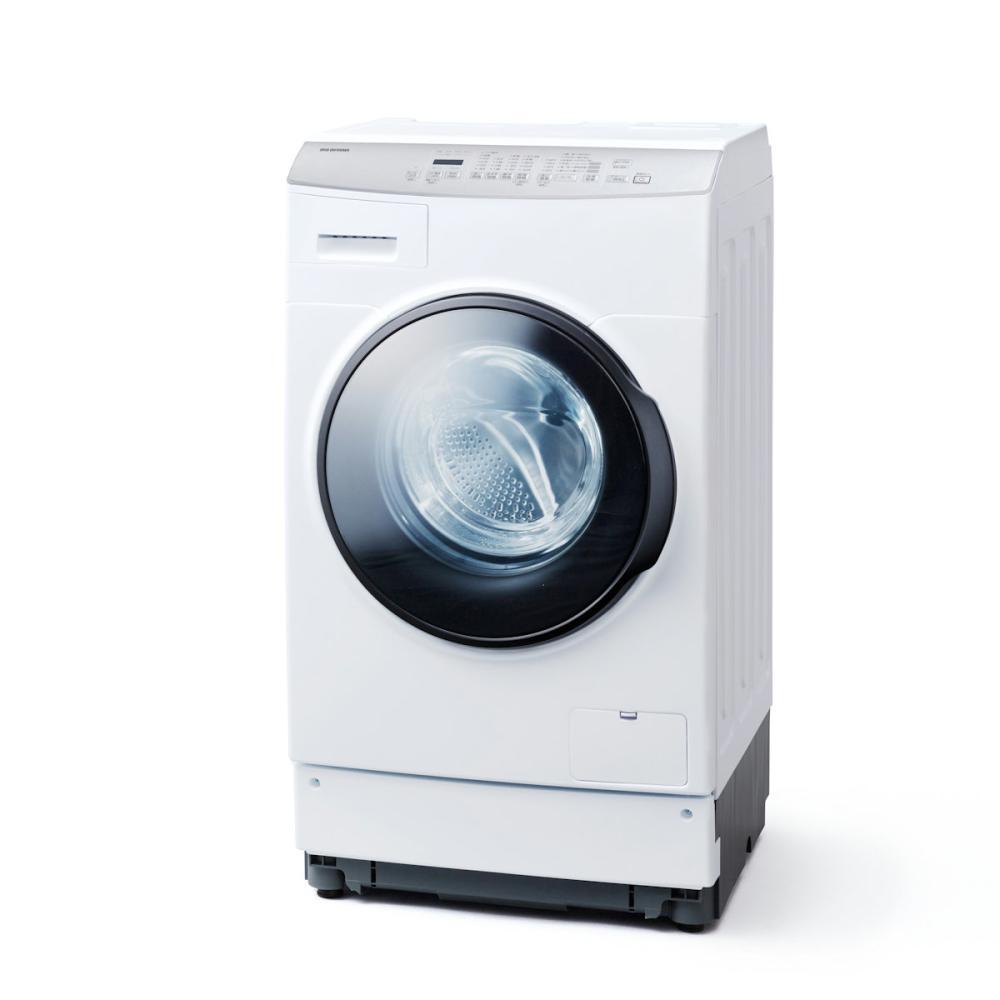 アイリスオーヤマ ドラム式洗濯機 8kg ホワイト FLK832