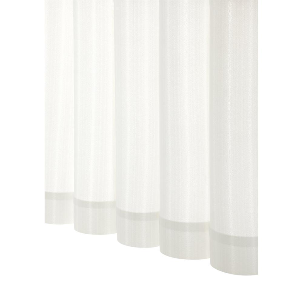 アテーナライフ 遮像レースカーテン リヴェル ホワイト 幅150cm 1枚入 各サイズ