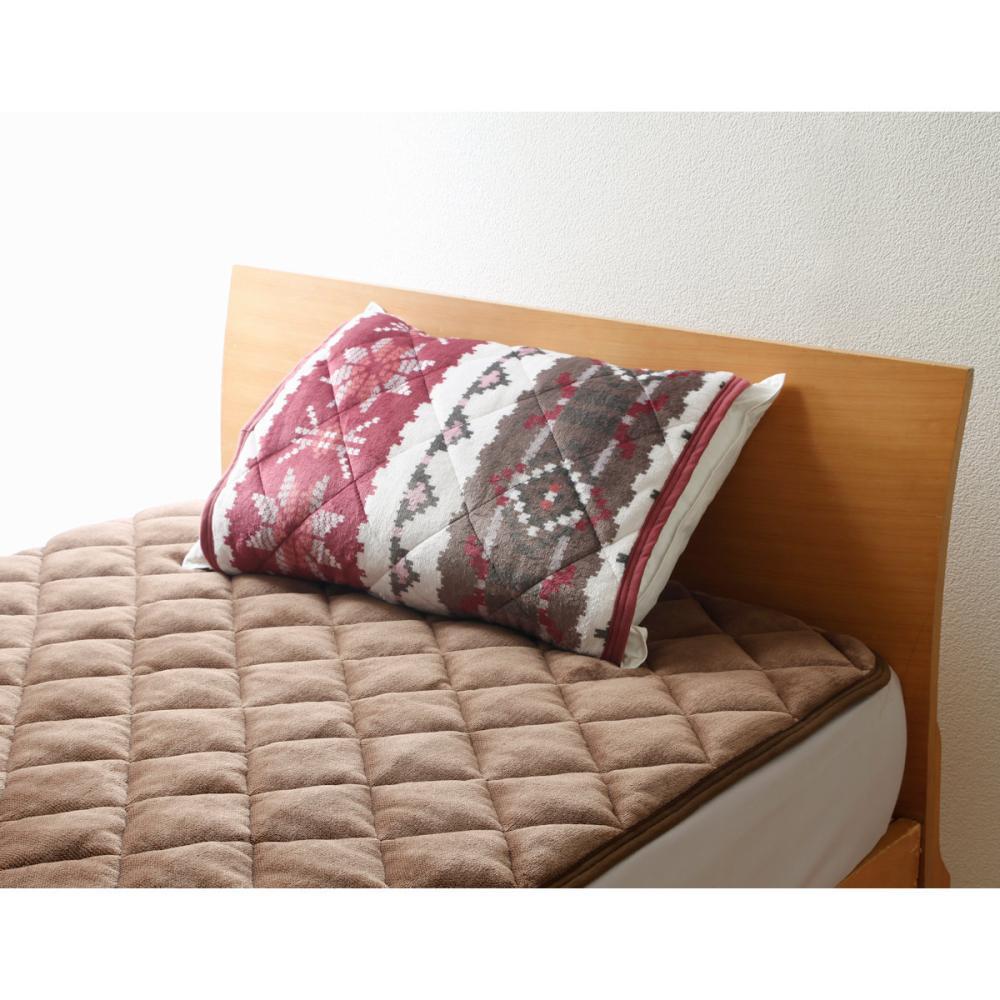 アテーナライフ あったか枕パッド ノルディック 55×50cm
