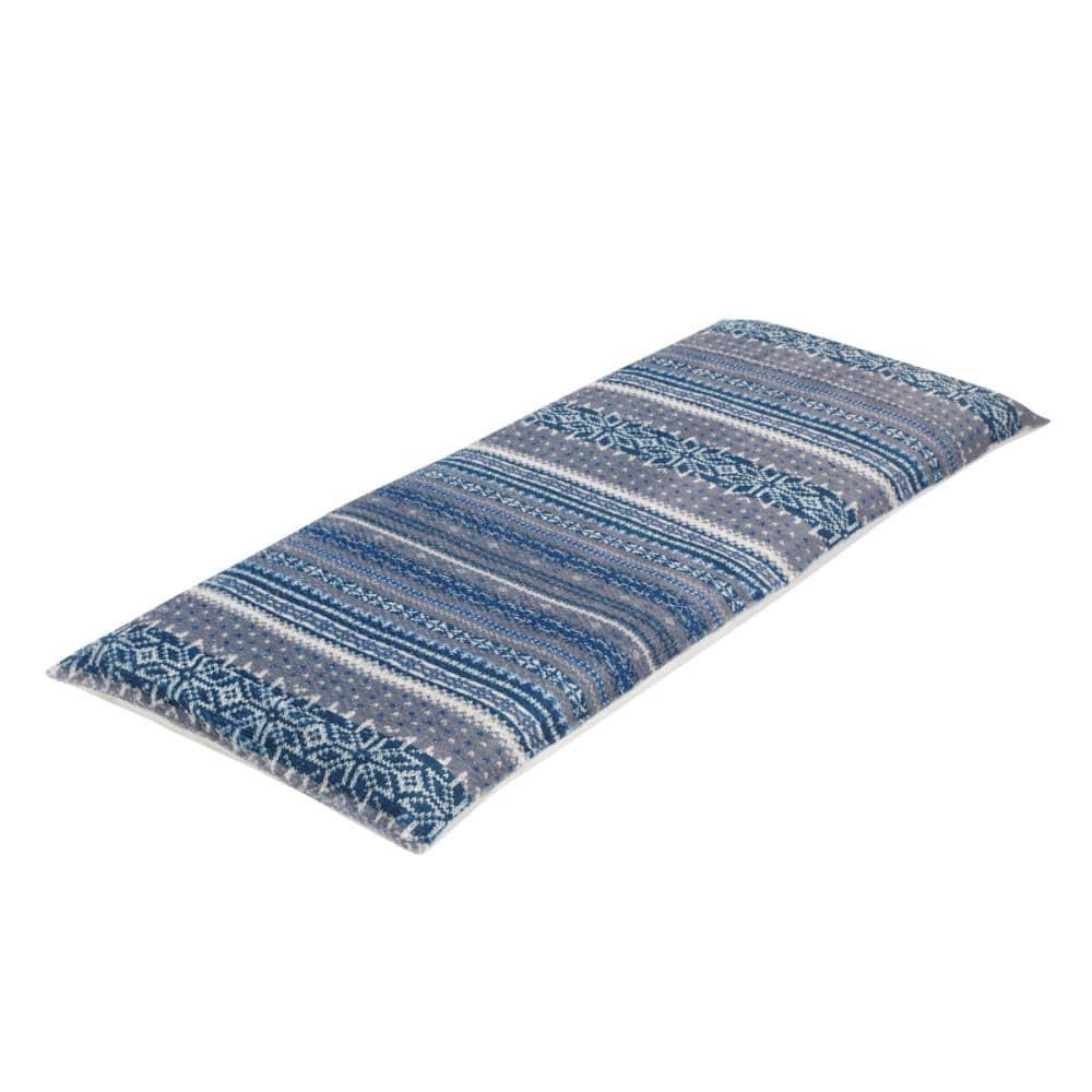 アテーナライフ 大判長座布団カバー ノルディック ブルー 70×180cm