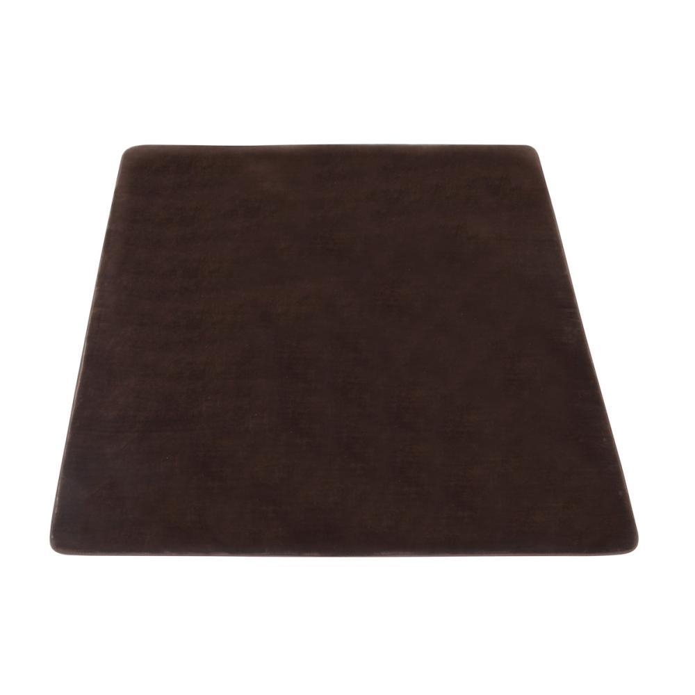 アテーナライフ 抗菌防臭 極厚リビングラグ アドヴァンス ブラウン 約2.2畳 185×185cm