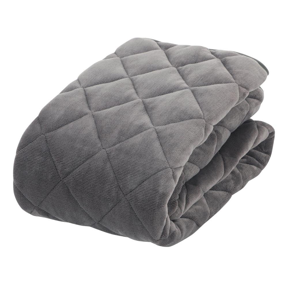 アテーナライフ 暖+シリーズ あったか敷パッド グレー シングル 100×200cm