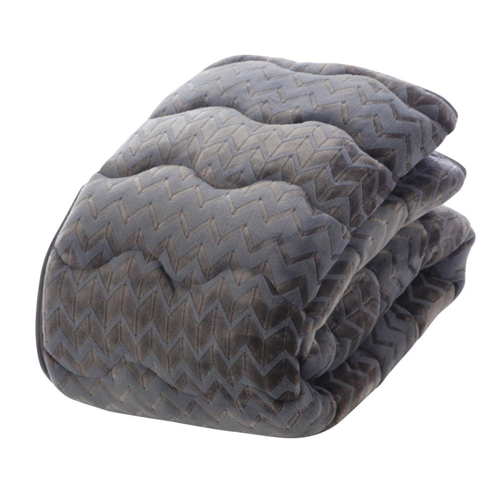 アテーナライフ 暖+シリーズ 滑り止め付あったか敷パッド ネイビー 各サイズ