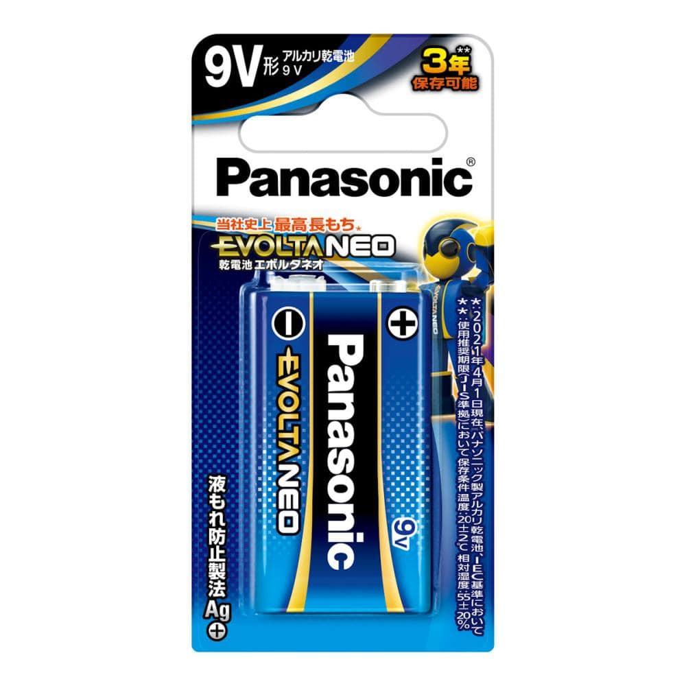 パナソニック エボルタNEO 乾電池 9V形 6LR61NJ/1B