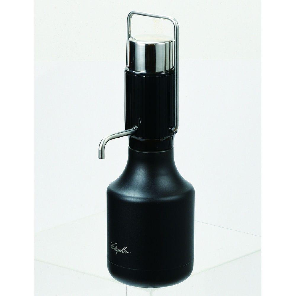 パール金属 ステンレスウォーターホン ビンテージバー 1.2L ブラック
