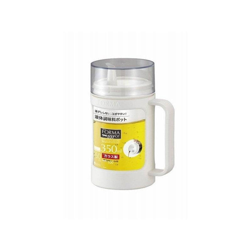 アスベル フォルマ ガラスポット液体用 350ml ホワイト 1132