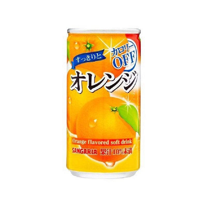 サンガリア すっきりとオレンジ 185g