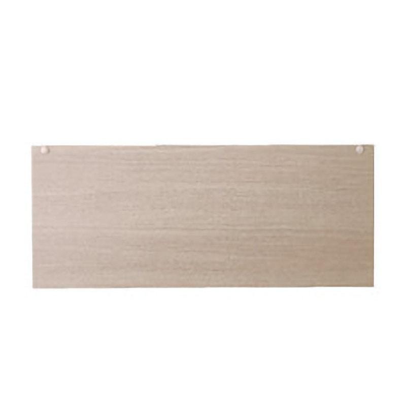 TOTO 洗面化粧台(KC用) 間口750 バックパネル ミディアムウッド LPCL075BCG1F