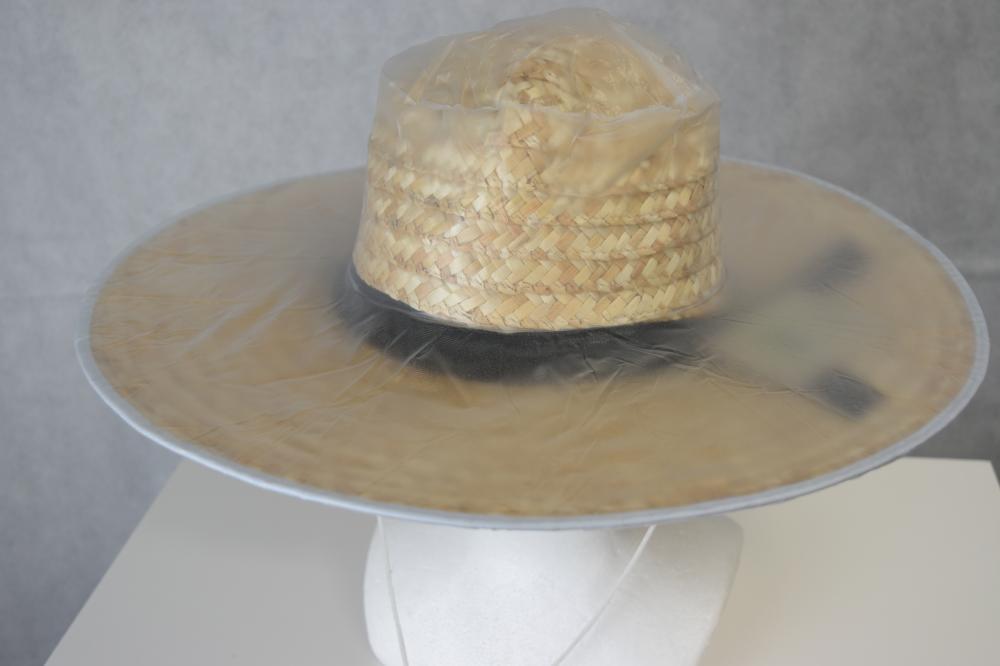 ヤマショウ 麦わら帽子用ビニールカバー