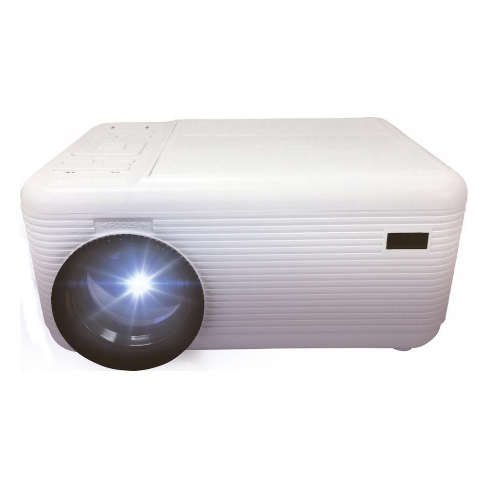 池商 DVD内蔵 プロジェクター ホワイト RA-PD080