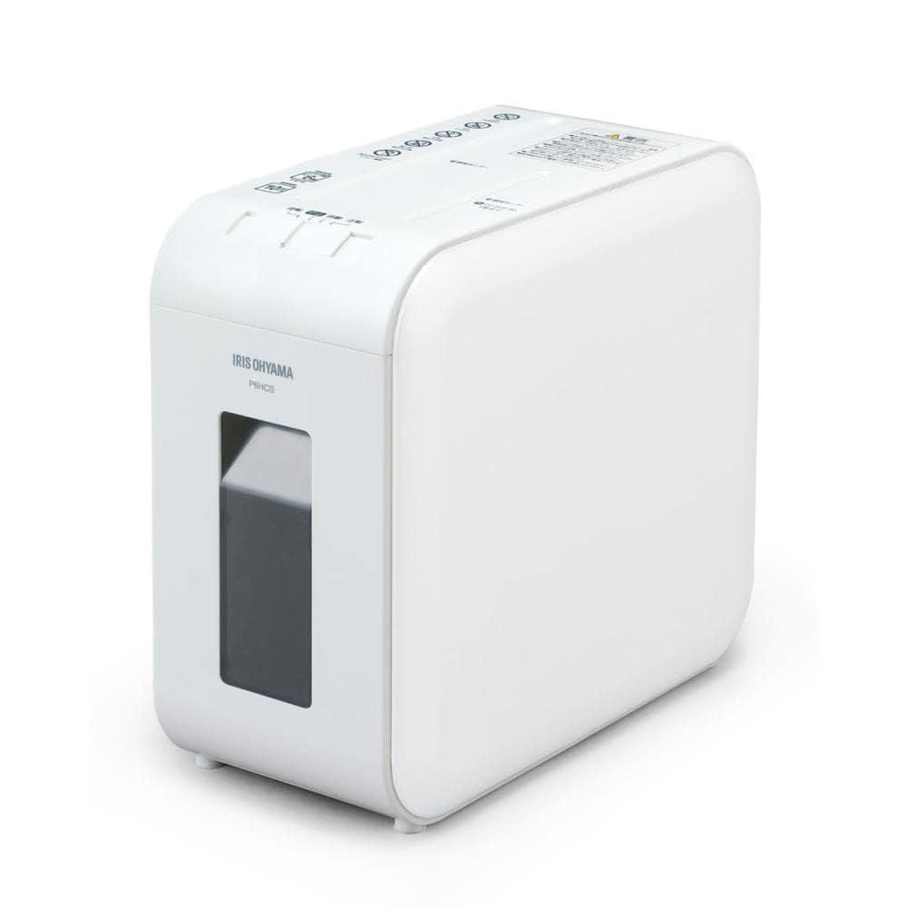 アイリスオーヤマ 超静音パーソナルシュレッダー ホワイト P6HCS-W