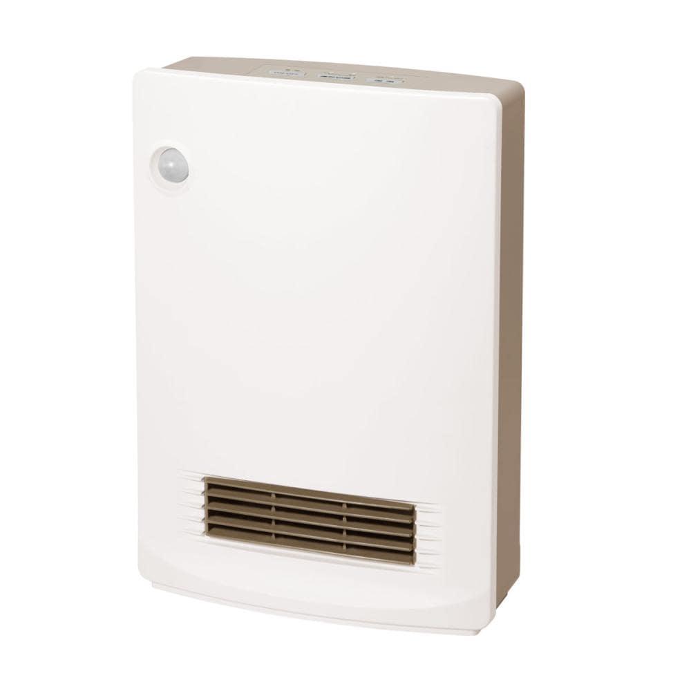 山善 人感消臭セラミックヒーター 800Wタイプ ホワイト KDSF-VB0821