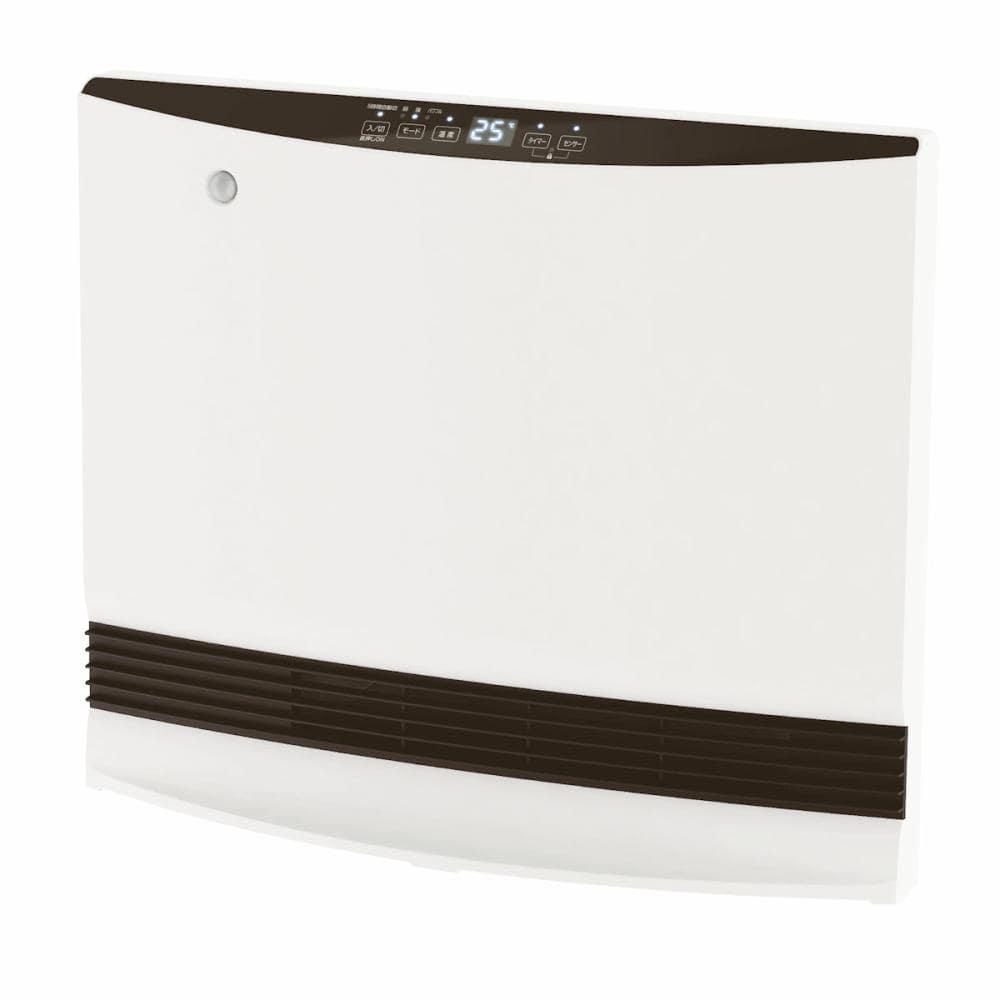山善 大風量人感セラミックヒーター 1200W ホワイト DSF-VP121