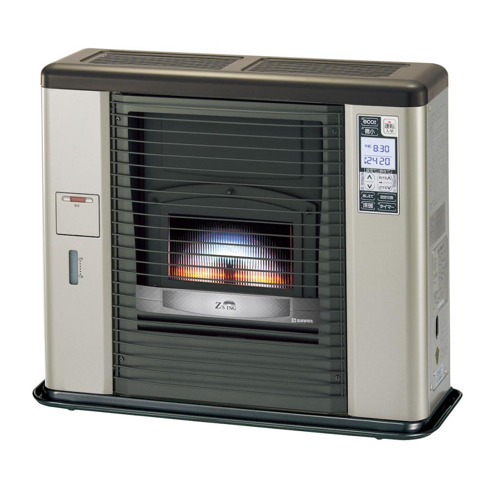 サンポット 床暖FF式スト-ブ ゼ-タスイング 木造18畳 ウォ-ムトップ シェルブロンド UFH-703RX A