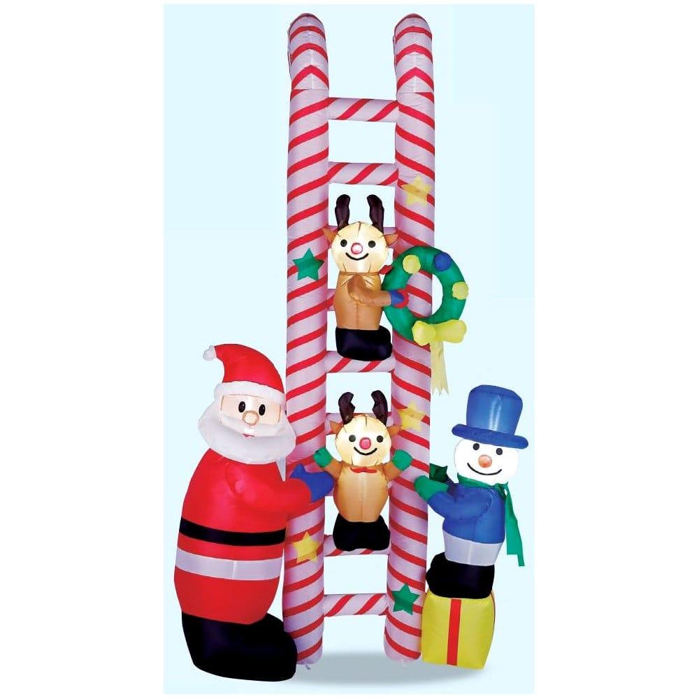 友愛玩具 エアーディスプレイ クリスマスはしごフレンズ