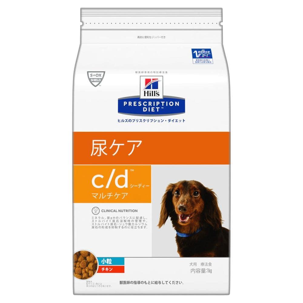 ヒルズ プリスクリプション・ダイエット 犬用 c/d マルチケア 小粒 3kg