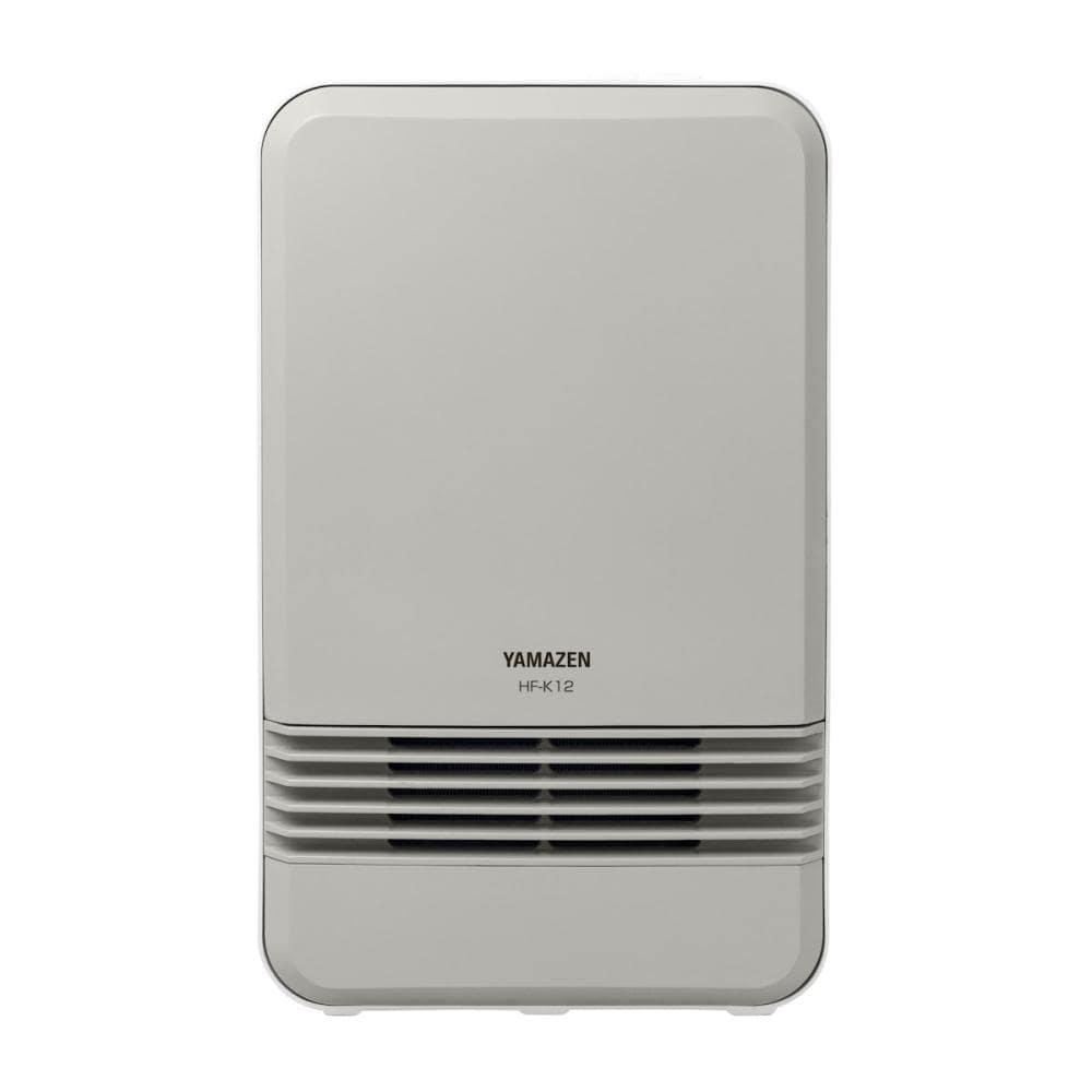 山善 セラミックヒーター 800W モカ/ホワイト HF-K121(MW)