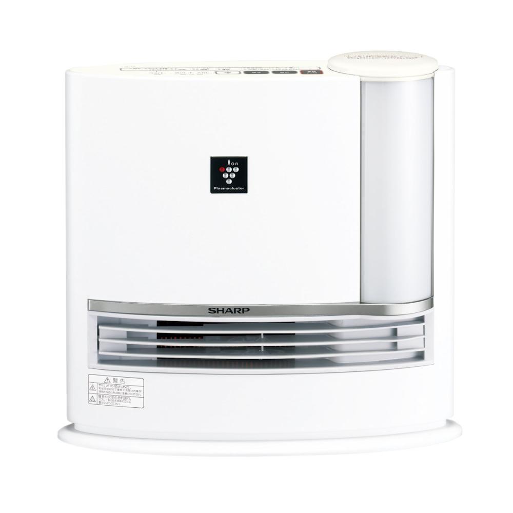 シャープ プラズマクラスター 加湿セラミックヒーター ホワイト HX―L120W