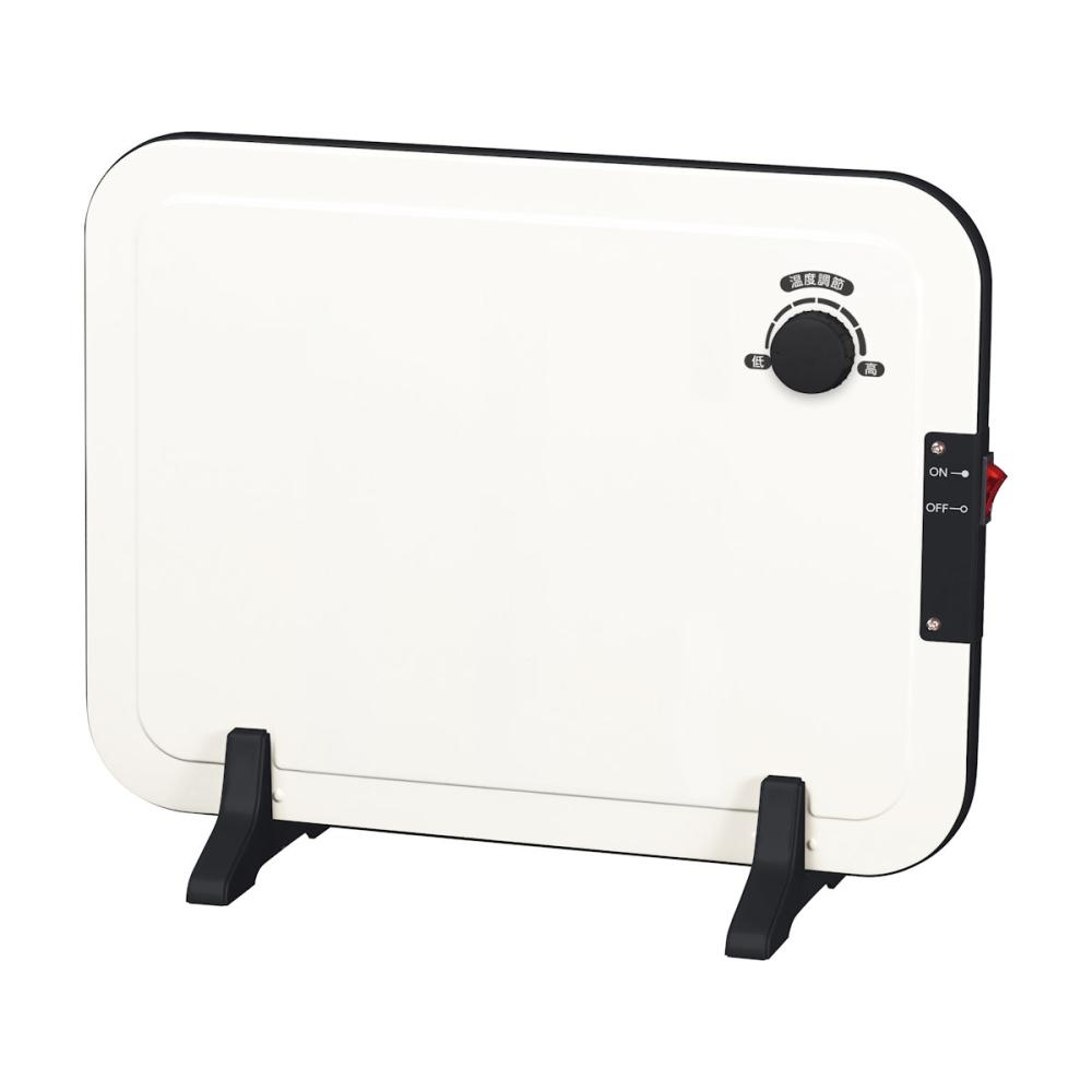 山善 パネルヒーター 温度調節機能付 ホワイト DP-SB168