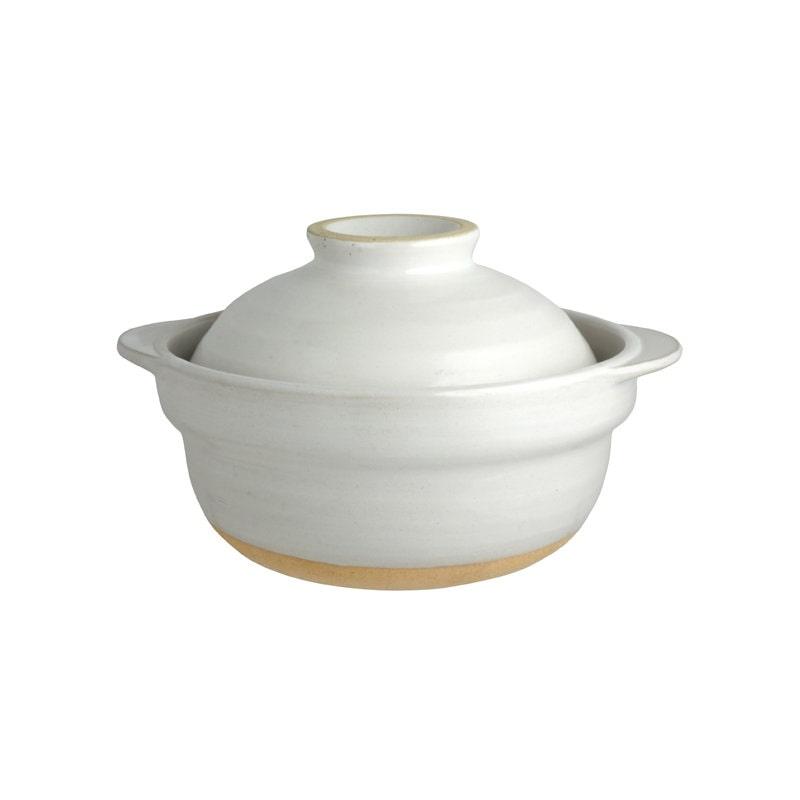蓋が茶碗にも使える土鍋 一人用 5.5号