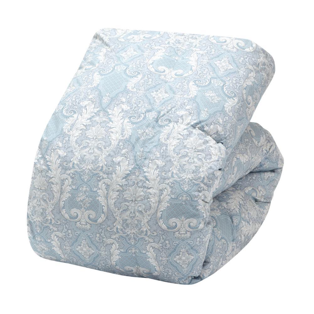 アテーナライフ 羽毛掛布団 フランス産ホワイトダックダウン90% シングルロング ブルー