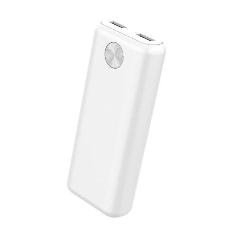 HIDISC 高耐圧IC搭載 モバイルバッテリー ホワイト 10000mAh