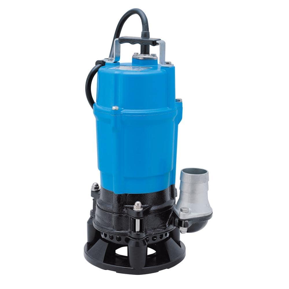 鶴見製作所 泥水工事サンド用水中ポンプ HSD2.55S-53 50Hz