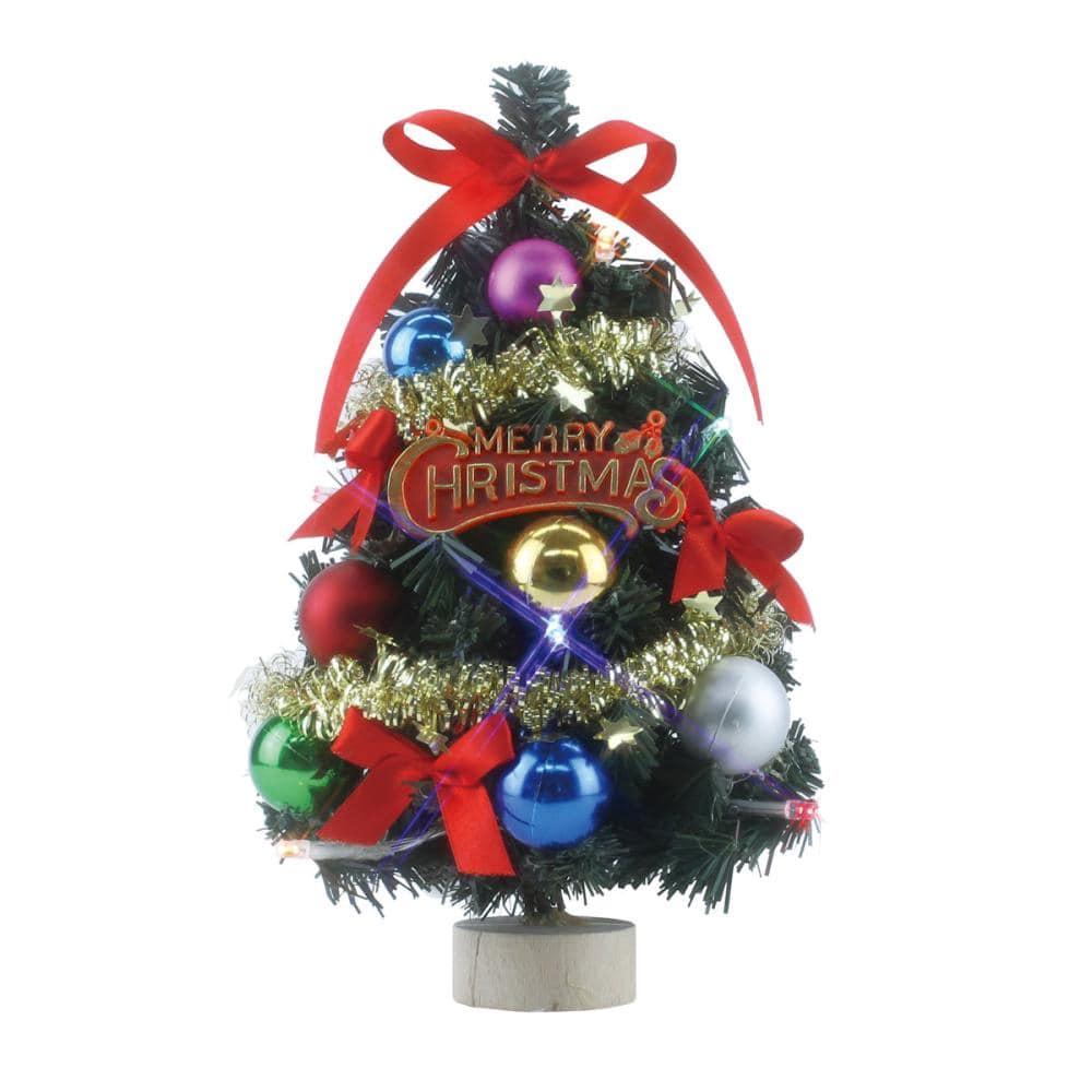 東京ローソク クリスマス オーナメント デコレーションツリー カラフル 24cm