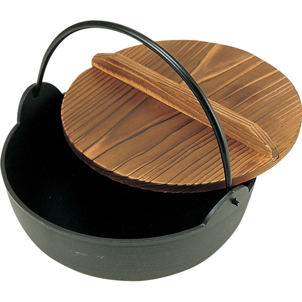 アルミ田舎鍋 蓋付 各種