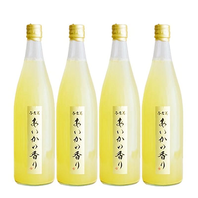 長野県産 幻のりんごあいかの香りリンゴジュース(4本入)