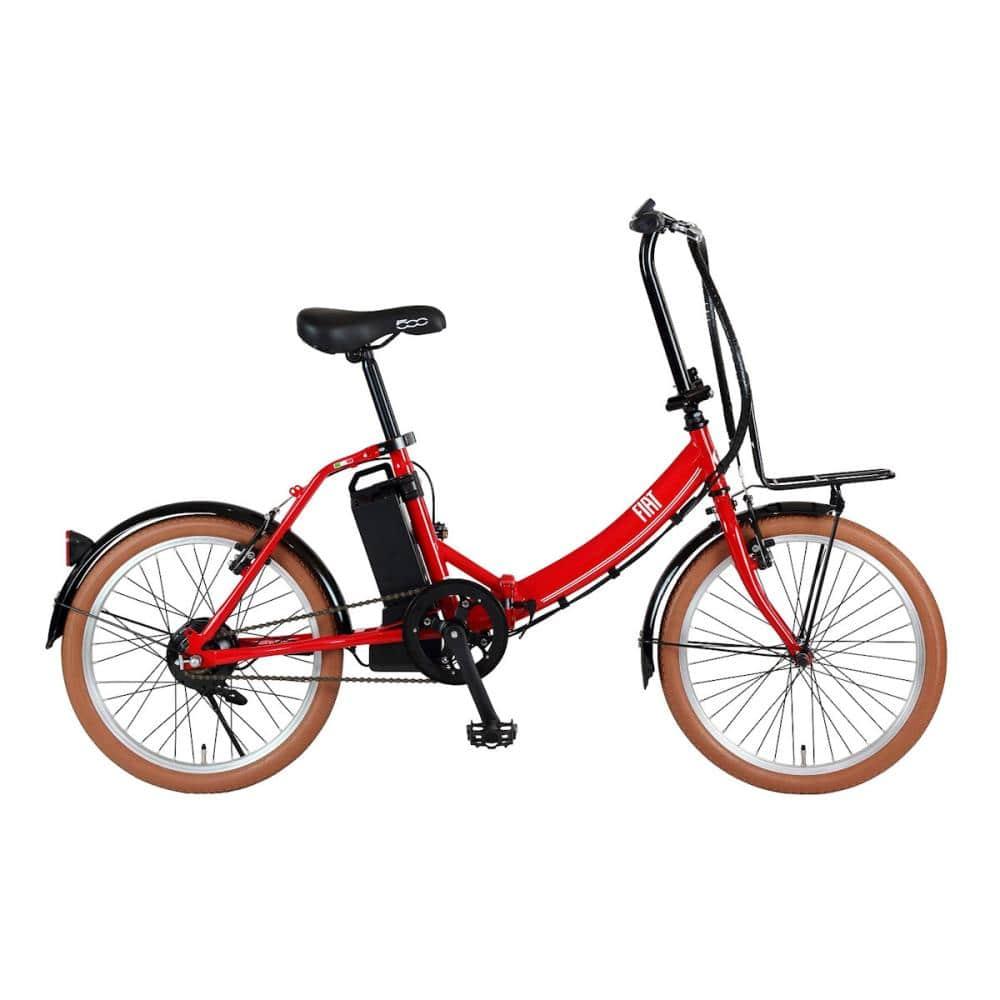 FIAT(フィアット) 折畳み電動アシスト自転車 20インチ E-BIKE FDB200E 各色