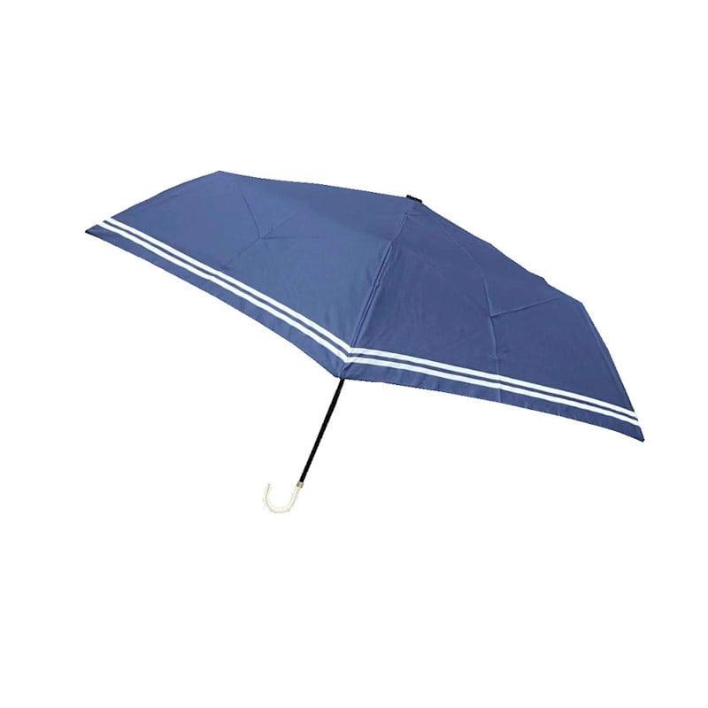 UV付オールシーズン折傘 50cm マリンボーダー 各種