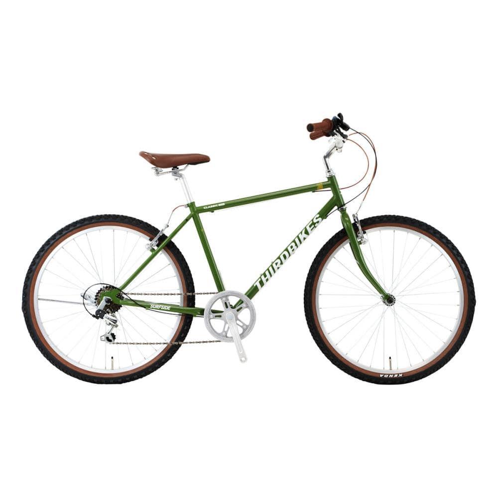 THIRDBIKES(サードバイクス) マウンテンバイク 26インチ サーフサイド-B マットグリーン
