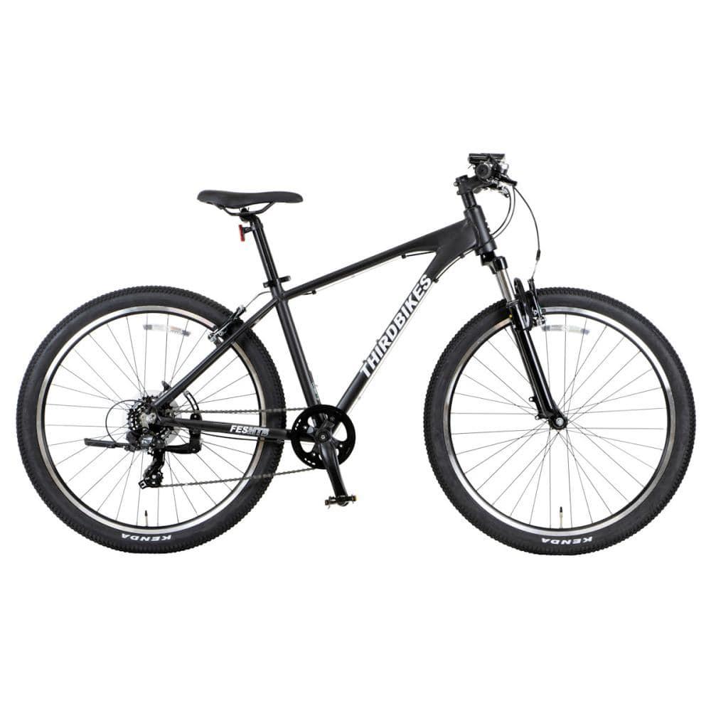 THIRDBIKES(サードバイクス) クロスバイク 27.5インチ フェス マットブラック MTB-C MBK