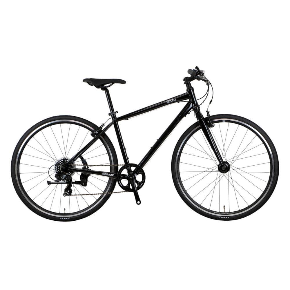 NESTO(ネスト) クロスバイク 700C 500mm バカンゼ2フラッシュ-C ブラック