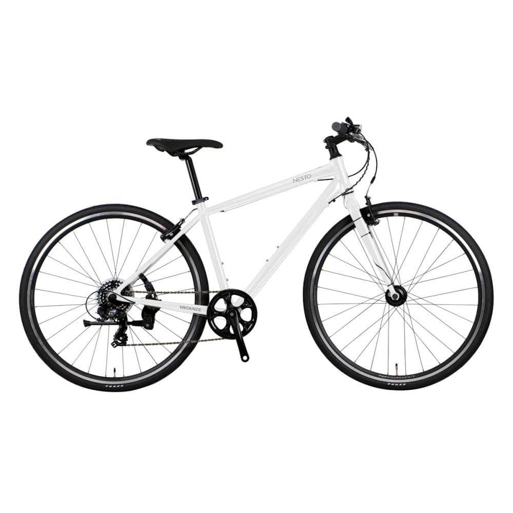 NESTO(ネスト) クロスバイク 700C 440mm バカンゼ2フラッシュ-C ホワイト